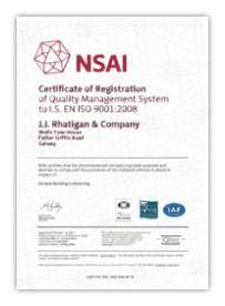 NSAI Rhatiggan ISO Cert