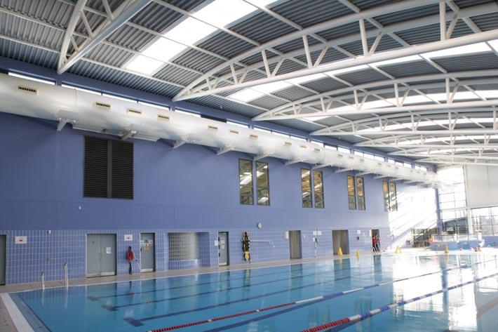 Tuam swimming pool jj rhatigan for Roscommon leisure centre swimming pool